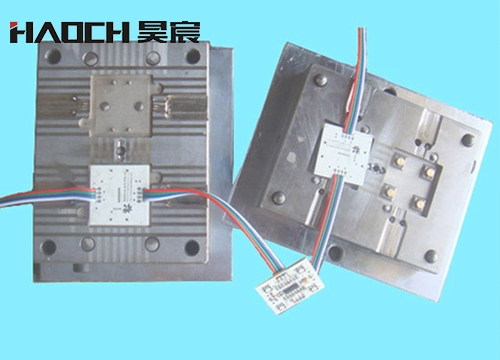 LED vertical injection mold